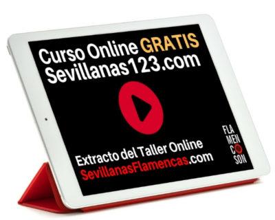 Curso Online Gratis Sevillanas Paso a Paso | Sevillanas123.com