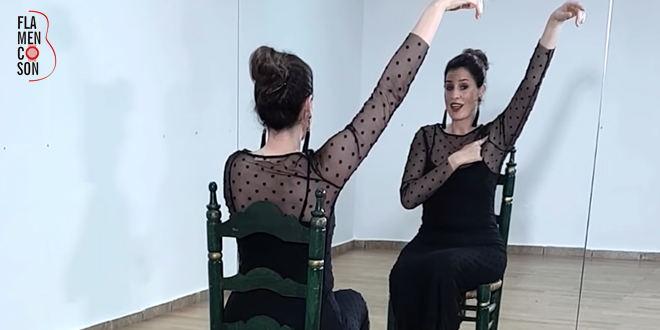 Cuando practiques tus manos flamencas no muevas los brazos