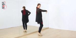 Taconeo Básico en la Tercera Sevillana Flamenca