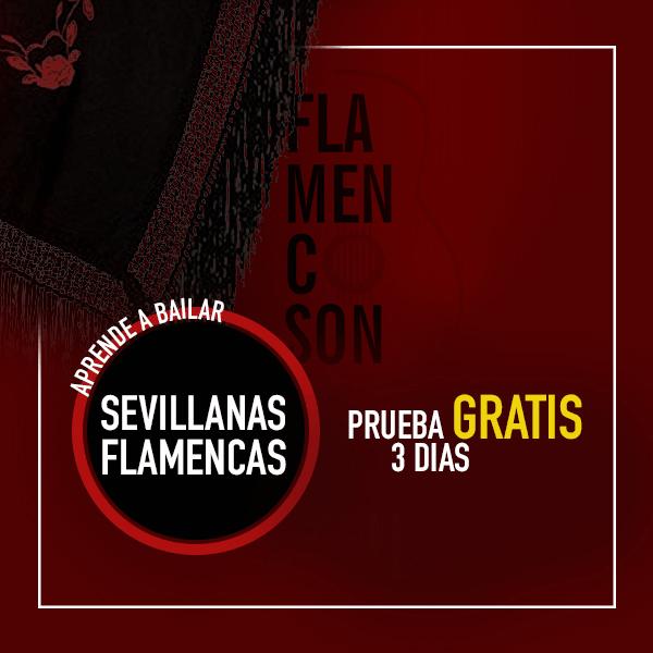 Curso de Sevillanas Flamencas con Flamencoson