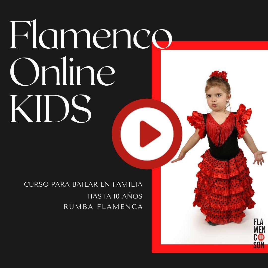 Clases de Flamenco Online para Niños y Niñas