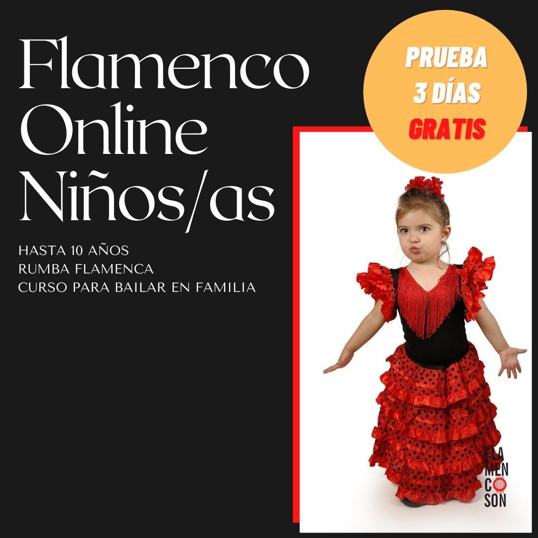 Flamenco online para niños