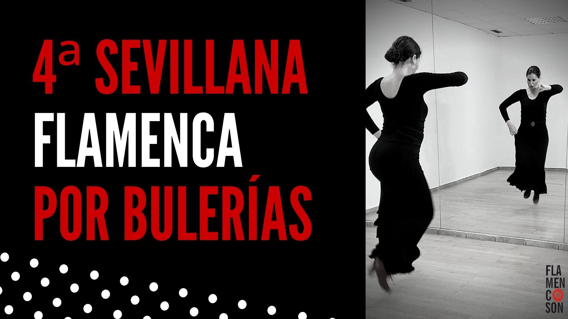 aprender a bailar cuarta sevillana flamenca por bulerias online