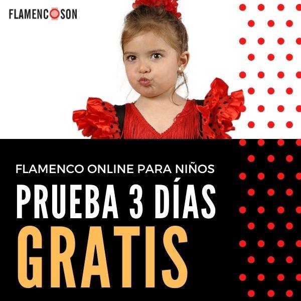Clases de flamenco online para niños