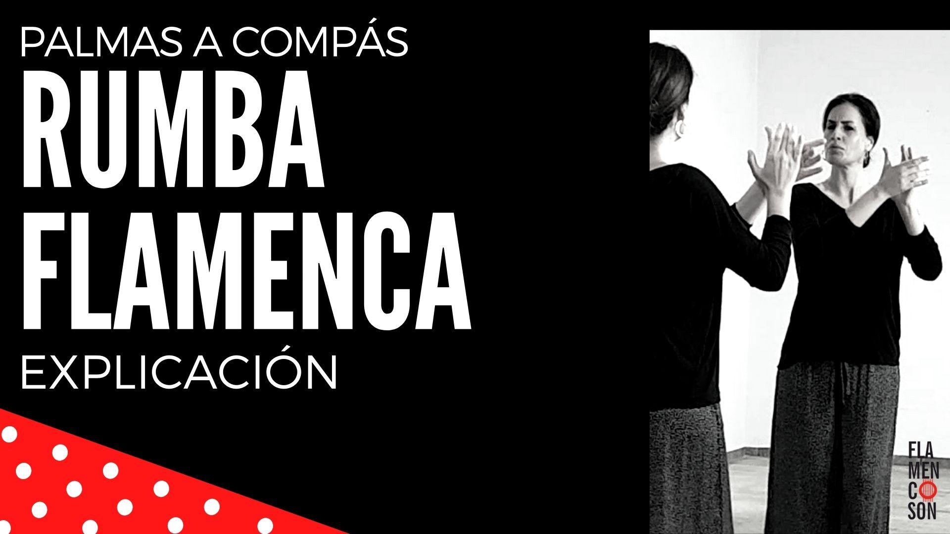 Rumba flamenca paso a paso clase de flamenco online