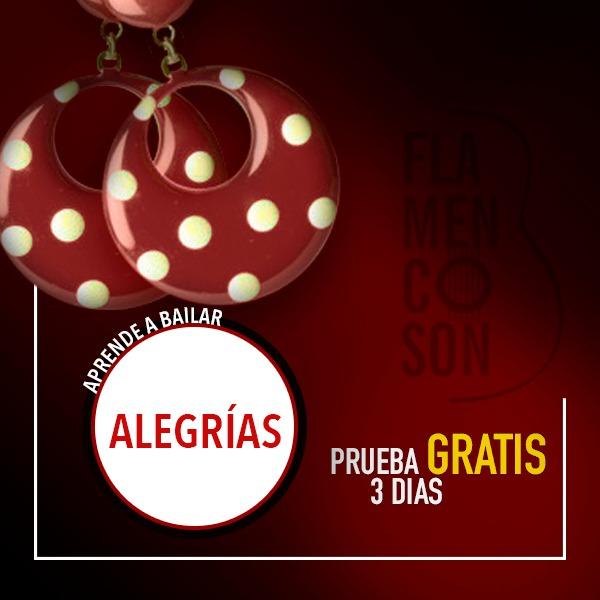 Clases de flamenco online alegrías
