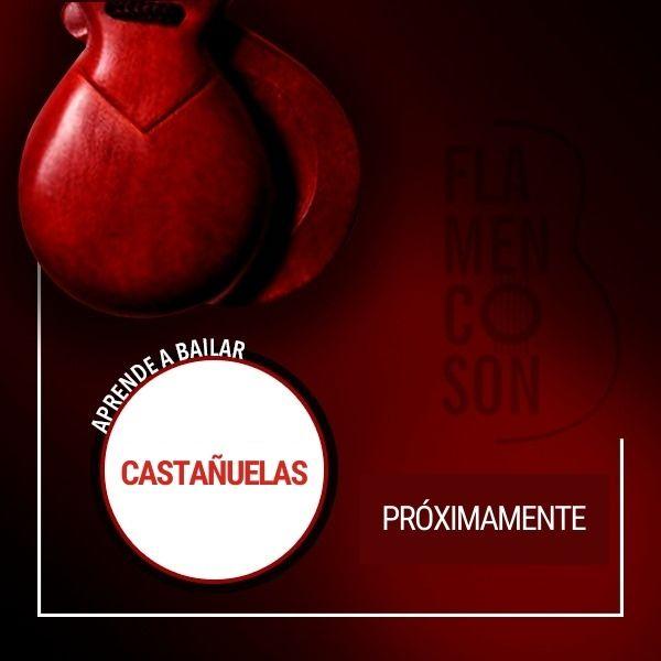 Clases de flamenco online de castañuelas